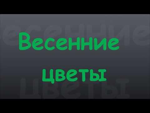 """Мультзарисова """"Весенние цветы"""""""