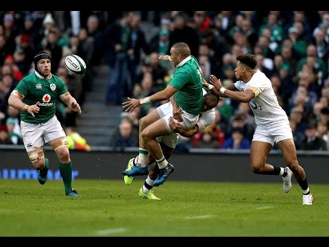 Official Extended Highlights Ireland 13-9 England   RBS 6 Nations