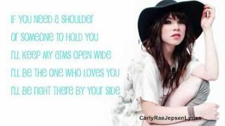 Just A Step Away - Carly Rae Jepsen [LYRICS!]