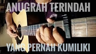 Anugrah Terindah Yang Pernah Kumiliki - SO7 (Fingerstyle Guitar) Cover By The Superheru
