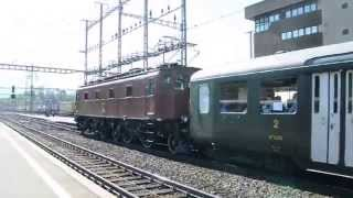 preview picture of video 'Abfahrt Be 4/7 Zug SBB Historic in Arth-Goldau'
