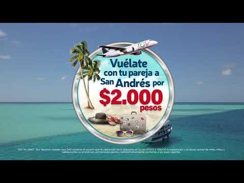 TD1.3 Vuélate a San Andrés $2000 - On Vacation - 6tos. Premios #LatamDigital 2018