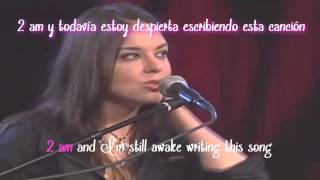 Anna Nalick  - Breathe (acoustic)  subtitulos español - ingles