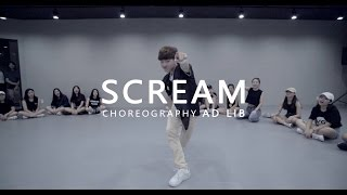 Usher - SCREAM  Choreography . AD LIB