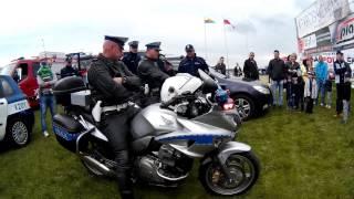 Balony nad Krosnem - pokaz sprzętu policyjnego