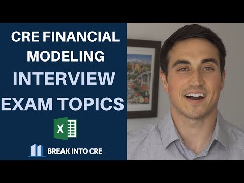 Real Estate Financial Modeling Interview Exam Questions - What ...