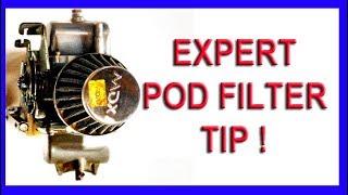 expert pod filter tip for carburetors