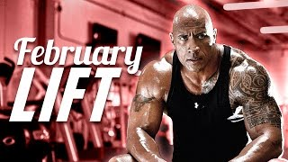 "FEBRUARY LIFT - The Rock on set of ""The Fate of the Furious""!"