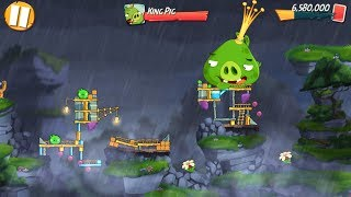 Angry Birds 2 King Pig Panic! (DAILY CHALLENGE) – 3 LEVELS Gameplay Walkthrough Part 170