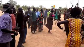 Nuer's Traditional Dance