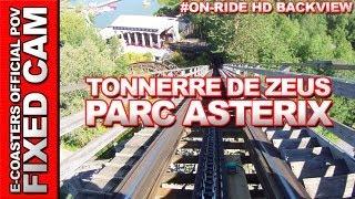 preview picture of video 'Tonnerre de Zeus - Parc Asterix | On-Ride Back View (ECam HD)'