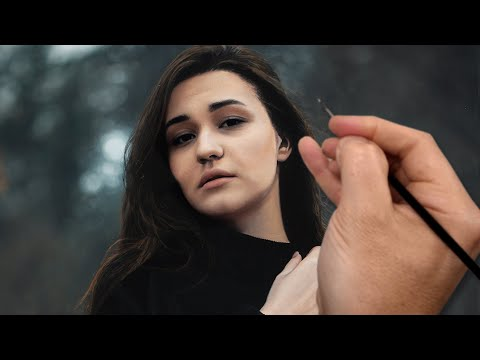 realistic portrait painting timelapse video by michael james smith