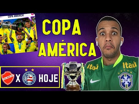 POLÊMICA COPA AMÉRICA NO BRASIL 2021, Vila Nova x Bahia copa do brasil