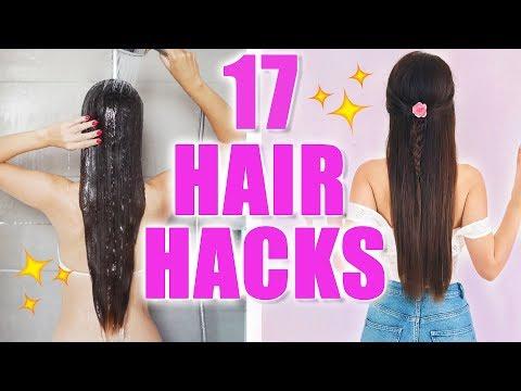 17 HAIR HACKS: WAS TUN GEGEN FETTIGE HAARE! DAS MACHT JEDER FALSCH 😱  KINDOFROSY