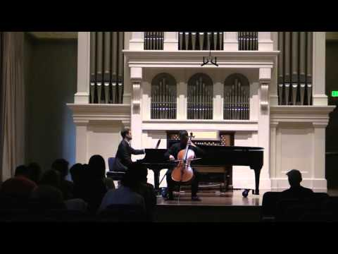 David Chentian Recital Tchaikovsky variation on a rococo theme