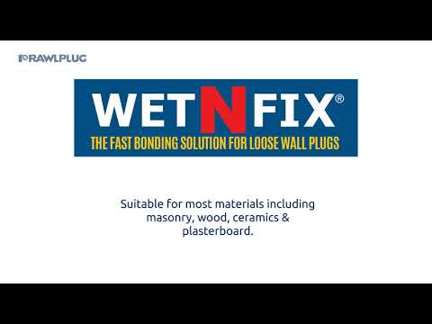 Rawlplug Wet-N-Fix Repair Solution Pads