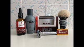 Klassische Rasur - Treet Carbon Steel, TABAC Original und CRAFTSMAN sowie Mühle R89