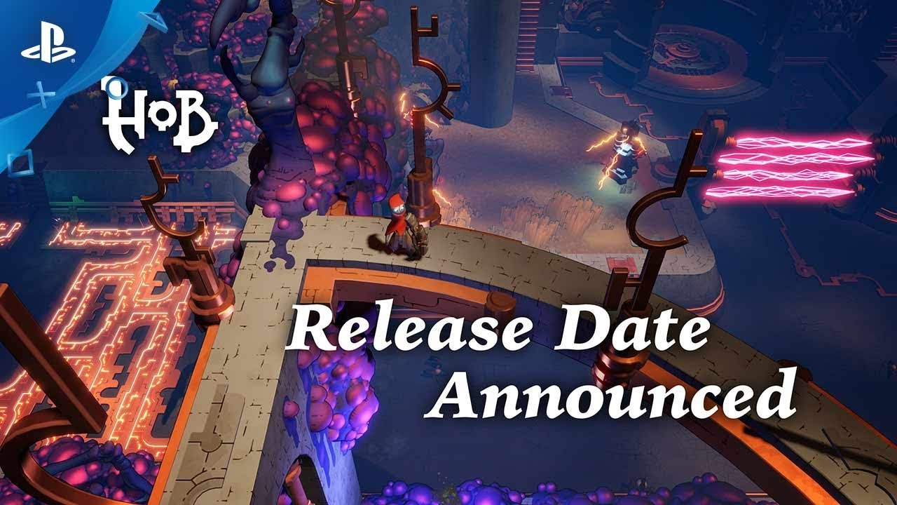 Hob: Out September 26 on PS4, Trophy Contest, New Trailer