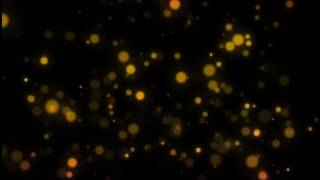 Bokeh 4k Ultra HD stock footage royalty free Colourful red yellow particles.