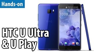 HTCs letzte Chance? HTC U Ultra & U Play im Hands-on | deutsch / german
