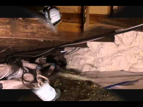 Crawlspace Repair with CleanSpace and Spray Foam