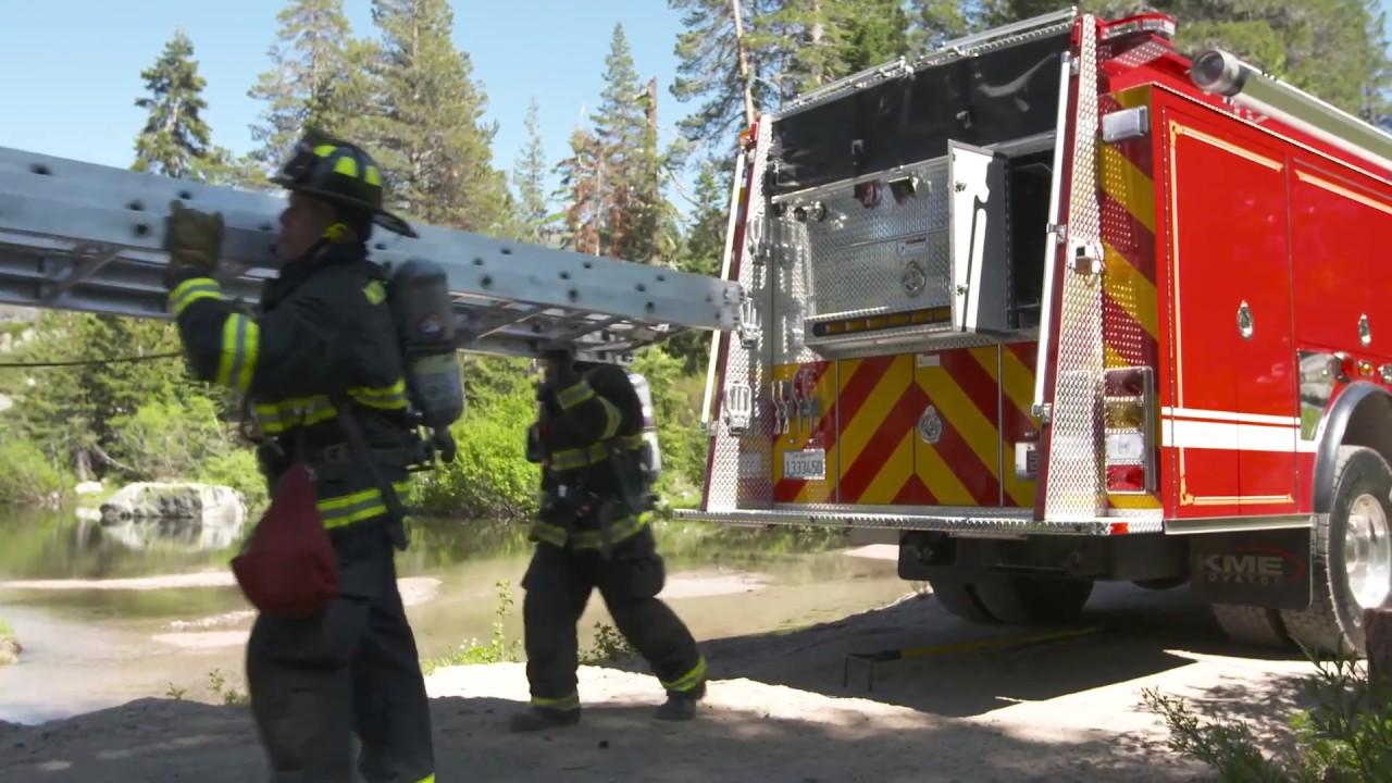 NORTH TAHOE FIRE PROTECTION DISTRICT (CA) CUSTOM 4X4 PUMPER WALKAROUND