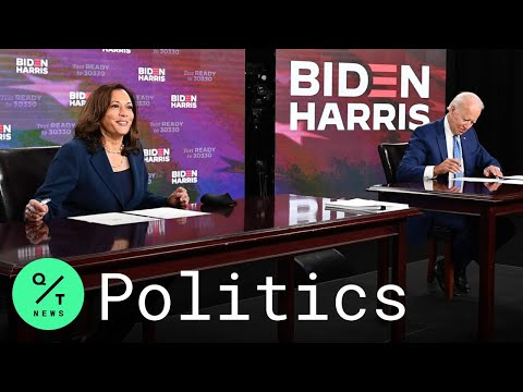 Biden and Harris Sign Documents to Get on State Ballots Ahead of Democratic Convention
