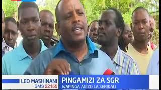 Wafanyibiashara kaunti ya Mombasa watoa wito wa amani wakipinga vikali maandamano dhidi ya SGR