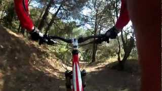 preview picture of video 'Gopro Hero 2 btt - Trialera Sant Mateu - Teià'