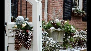 GardenStyle With Sara Antin Winter Wonderland Windowbox And Winter Swag BetterKC Segment
