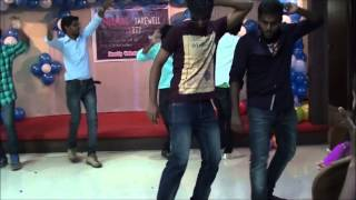 Juniors Dance Performance in Freshers Party