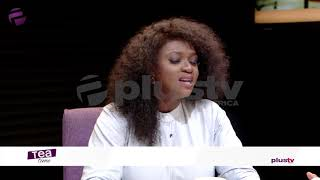 "Waje Performs ""Udue"" Live On Tea Time"