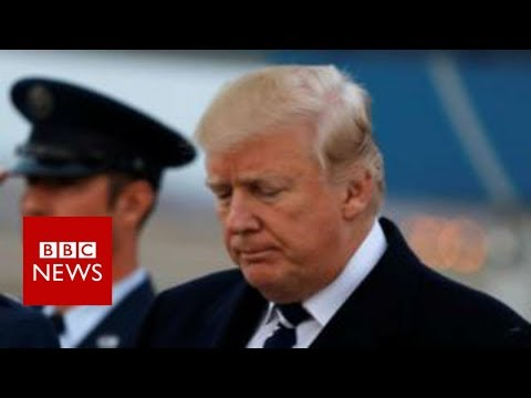 Russia-Trump: President hits out at FBI over Russia inquiry - BBC News