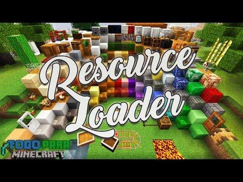 Descargar e Instalar Mod Resource Loader para Minecraft