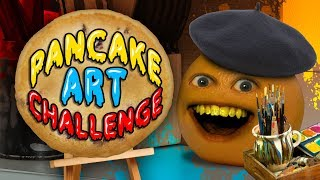 Annoying Orange - Pancake Art Challenge!