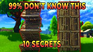 10 *NEW* SECRET Tips & Tricks 99% Of Players Don