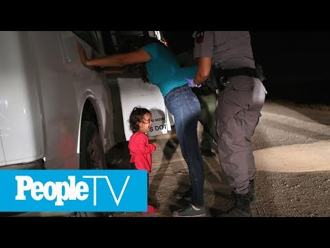 The Story Behind The Heartbreaking Viral Photo Of The Little Girl Crying At The Border | PeopleTV