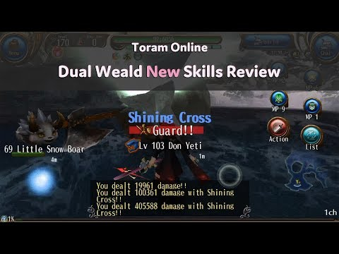 Toram Online♡ DW level4 skills Review - Toramなちゅ - imclips net