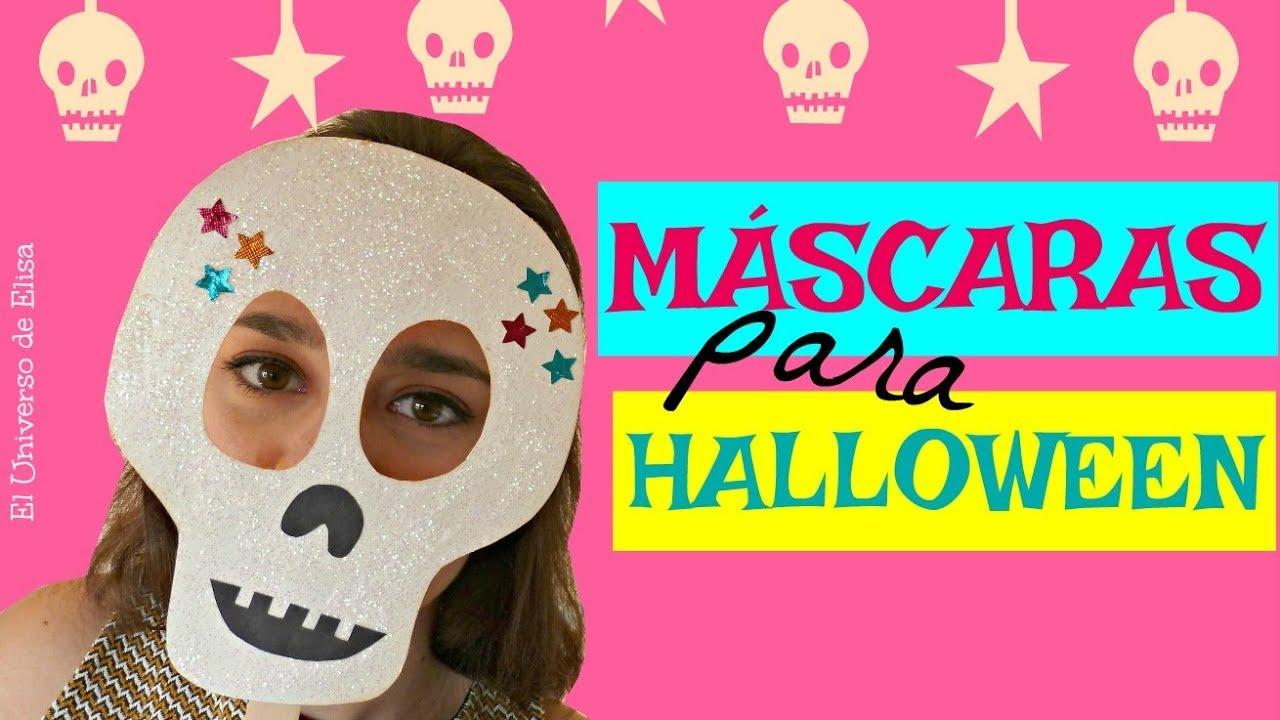 Máscaras para Halloween y El Día de los Muertos, Halloween Party, Cute Halloween Masks