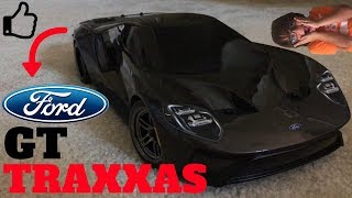 New Traxxas Ford Gt Rc Car Unboxing Review  Mph First Drive