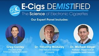 Greg Conley Speaks on an Vapor Advocacy Webinar