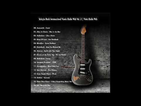 Seleção Rock Internacional - Viamix Rádio Web, Nirvana, Metallica, U2,