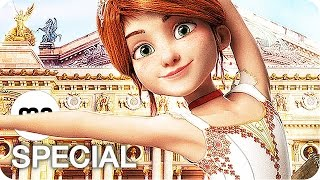 BALLERINA Film Clips, Featurette & Trailer German Deutsch (2017)