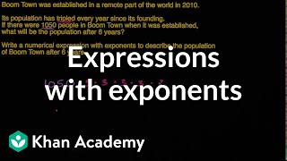 Writing Expressions With Exponents