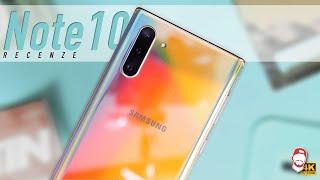 📱 Samsung Galaxy Note10 Recenze: Nejmenší Note Ever!   WRTECH [4K]