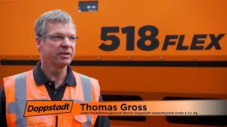 Doppstadt 518 FLEX Trommelsiebmaschine - Produkt Video 2018