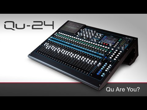 ALLEN & HEATH QU-24 DIGITAL MIXER DAW CONTROL DRIVER FREE