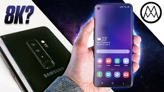 The Samsung Galaxy S10 looks - Interesting