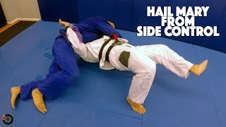 Hail Mary Escape From Side Control   Jiu Jitsu Training  |  VLOG #239