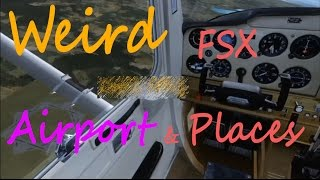 preview picture of video '✈ FSX Movie | Weird FSX Airports and places [HD]'